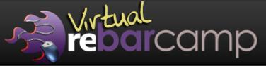 Virtual REBarCamp Logo
